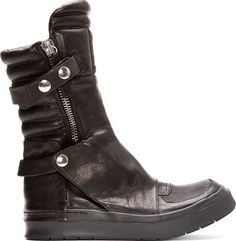 CA by Cinzia Araia - Black Leather New Jump Boots