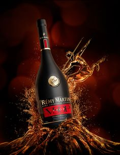 A set of 2 images for Brooklyn Bros NYC & Remy Martin. A fully CGI bottle & fluids set up . Wine Photography, Vides, Spiritus, Wine Design, Scotch Whiskey, In Vino Veritas, Bottle Mockup, Liquor Bottles, Wine And Beer
