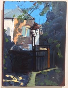 Bruce Williams's BEHIND THE BLACK DOG, WHITSTABLE at the RA Summer Exhibition 2015