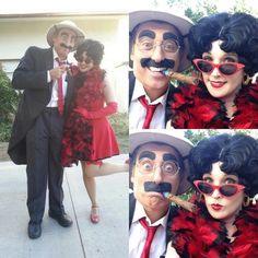 #GingerPauley #BettyBoopImpersonation #GrouchoMarx #ITGirl