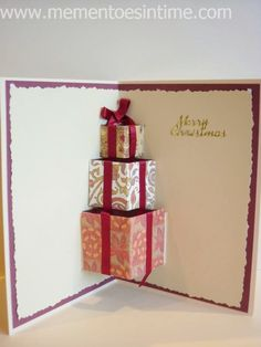 Christmas Cards and Cardmaking Ideas - Mementoes In Time