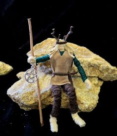 Cernunnos Horned God.Pagan Wiccan Altar figure Amulet.Hand Crafted by Rowan Duxbury Herne The Hunter, Corn Dolly, Pagan Festivals, Witchcraft Books, Wiccan Altar, Pagan Gods, Wiccan Crafts, Homemade Crafts, Nature Crafts
