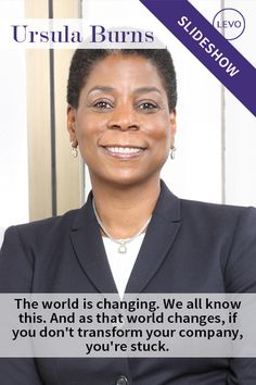 Ursula Burns is the first African-American woman to be the CEO of a Fortune 500 company. She currently holds that position at Xerox, and was rated the 14th most powerful woman in the world by Forbes in 2009. #WomensHistoryMonth #glassbreakers