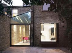 Victorian terraced house extensions in London – House Extensions Builders, Loft Conversions, Garage Conversions Terraced House, Extension Designs, Glass Extension, Extension Ideas, Victorian Terrace, Victorian Homes, Victorian Townhouse, London Architecture, Architecture Design