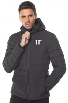 11 Degrees Space Hooded Puffer Jacket | USC
