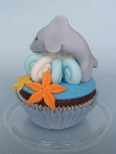 Dolphin Cupcake - Fantastic!