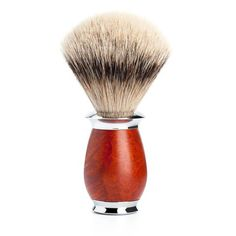 Badger Brush - Mühle Purist Silvertip Shaving Brush With Briar Wood 091H59