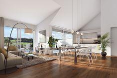 © STOMEO Visualisierungen - Zürich | www.stomeo.ch Mirror, Furniture, Home Decor, Architecture Visualization, Real Estates, Floor Layout, Condo Living Room, Homes, Decoration Home