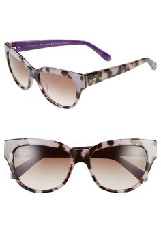 808d29603f kate spade new york  aisha  54mm cat eye sunglasses available at  Nordstrom  Cat