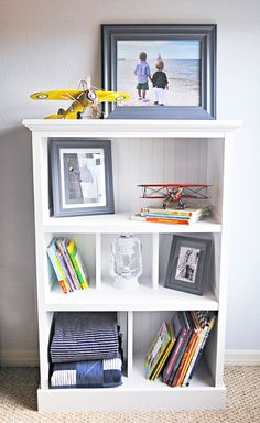 How to Upcycle a Cheap, Old Bookcase Into a New, Design-Worthy Piece   eHow Home