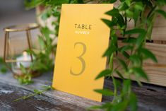 Mustard Yellow and Gold Wedding Table Numbers Full Set. Available In Any Colours, Fully Customisable. Mustard Yellow Wedding, Wedding Theme Inspiration, Yellow Table, Pink Wedding Invitations, Blush Pink Weddings, Stationery Set, Wedding Table Numbers, Name Cards, Gold Wedding