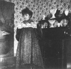 Jean Edouard Vuillard, Portrait of Misia Godebska Natanson, 1897