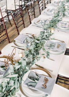 Wedding Reception Places, Blue Wedding Receptions, Barn Wedding Venue, Wedding Signs, Rustic Wedding, Blue Table Settings, Wedding Table Settings, Country Barn Weddings, Cowboy Weddings