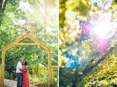 Maryland Wedding Photographer | Brookside Gardens Engagement ...