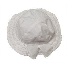 """FAO Schwarz Girls White Floppy Hat with Bow - FAO Schwarz - Babies """"R"""" Us"""