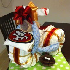 SF 49ers Diaper Trike