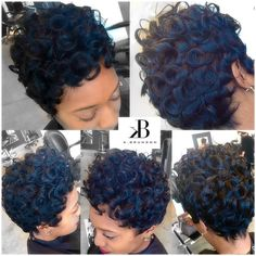 ... about Hair on Pinterest Sisterlocks, Crochet braids and Short cuts