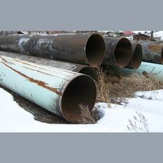 36 in. diameter.  0.375 (3/8 in.) wall.  Tar coated.  Torch cut ends.  242 lbs/ft.  50 ft. lengths.  Approximately 1,000 ft. available.    View more Steel Pipe