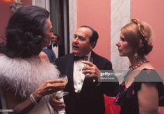 The Duchess Cayetana of Alba with the Minister Alfredo Sanchez Bella and the Countess of Quintanilla at a reception Madrid, Spain. Get premium, high resolution news photos at Getty Images Alba, Still Image, Princess Diana, Chic, Beautiful, Princesses, Lost, Europe, Board