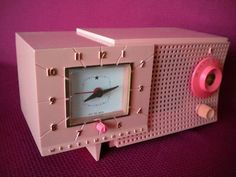 pink radio much like the one I had in high school.
