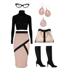 """""""Faceted Pink Chalcedony Jewelry"""" by simplybechic on Polyvore  Pink is the color of universal love!  http://www.shop.simplybechic.com/Faceted-Pink-Chalcedony-Earrings-65665.htm  http://www.shop.simplybechic.com/Faceted-Pink-Chalcedony-Pendant-74236.htm"""