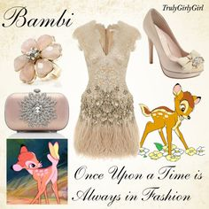 """Disney Style: Bambi"" by trulygirlygirl on Polyvore"