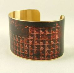 This Brass-Made Accessory Features the Periodic Table trendhunter.com