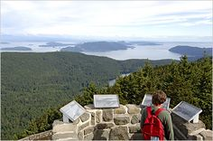 Hike to here again with Haugen Leonard Top of Mt. San Juan Islands, Travel News, Constitution, Dream Vacations, Ny Times, Cool Places To Visit, North America, The Good Place, Travel Destinations