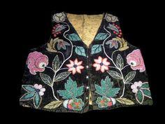 Ojibwe Beaded Vest-Unknown artist