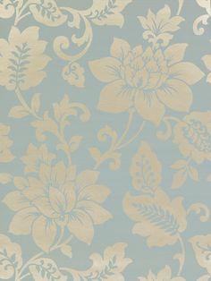 Buy Harlequin Wallpaper, Sophistication 25678, Sky / Gilver online at JohnLewis.com - John Lewis
