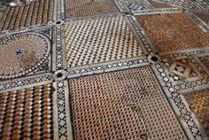 renaissance-art:Floor Mosaic's in Basilica di San Marco, Venice