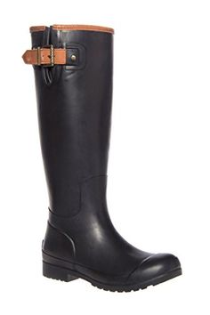 Sperry Top-Sider Women's Walker Haze Mist Black Rain Boot ** Read more reviews of the product by visiting the link on the image.