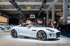 Live in Brussel 2015: Jaguar F-Type AWD