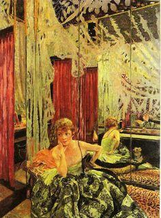 Portrait of the actress, Jane Redouart, 1927 by Edouard Vuillard