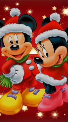 Wall paper disney baby mickey mouse New Ideas Winnie The Pooh Christmas, Mickey Mouse Christmas, Disney Christmas, Christmas Art, Mickey Mouse Pictures, Baby Mickey Mouse, Mickey Mouse And Friends, Mickey Mouse Wallpaper Iphone, Disney Wallpaper
