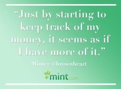 Minters, feel the same way?