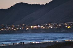 View from Spyglass Resturant in Shell beach or PIsmo Beach, CA