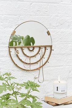 Lilio Jewellery Storage Mirror