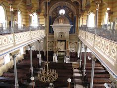 Images of the Aron ha Kodesh, or Ark — the place where Torah scrolls are kept — in a number of synagogues around Europe. Folk Religion, Church Building, World View, Place Of Worship, Bratislava, Ark, Prague, Around The Worlds, Czech Republic