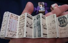 altered domino book by creativeswaps 2/2