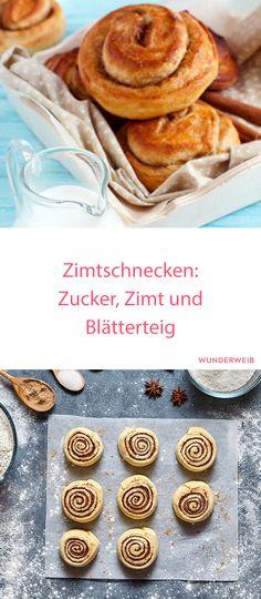 Diese köstlichen Zimtschnecken musst du unbedingt probieren! So lecker! #backen #zimtschnecken #rezept
