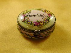 Friendship oval - Porcelain Limoges from France - Limoges Factory Co.