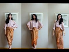 4 Easy Ways To Wear a Kain Batik | GemmaDelicia