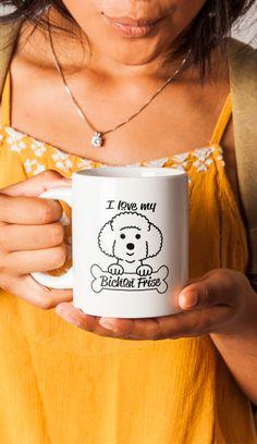 Love Bichon Frise | Bichon Frise Gift | Gift For Bichon Lovers | Bichon Gift | Bichon Coffee Mug | Dog Lover | Bichon Life Mug