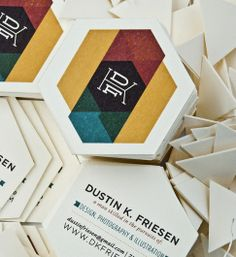 Dustin K. Friesen branding