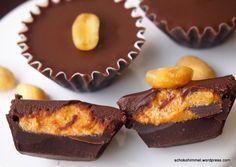 Ich lade ein... zu sahnigen Schokoladen-Erdnussbutter-Trüffeln [Buchrezension] - Schokohimmel