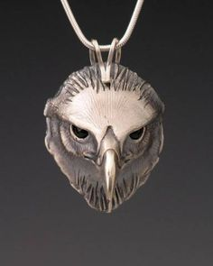 Eagle Jewelry, Handcrafted Silver Jewelry Pendant