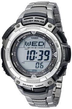 Casio PAW1100T-7V Pathfinder Altimeter and Barometer Solar Atomic Digital Watch for Men