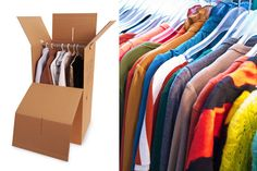 Available in Toronto & GTA Only Source: Boxshop Moving Clothes, Packing Clothes, Wardrobe Boxes, Moving Supplies, Moving Boxes, Gta, Toronto, Hanger, New Homes