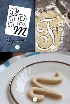 Make Your Own Typography Cookies